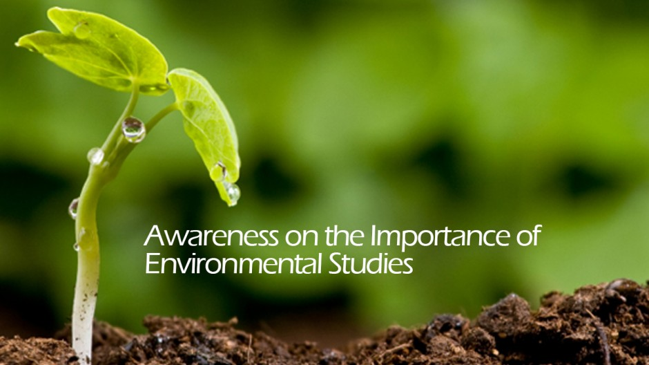 importance of environmental awareness Advertisements: the need to spread environmental awareness is enormous in the context of successfully addressing environmental problems it is linked to environmental.