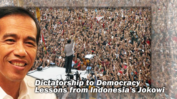 dictatorship to democracy overnight in indonesia